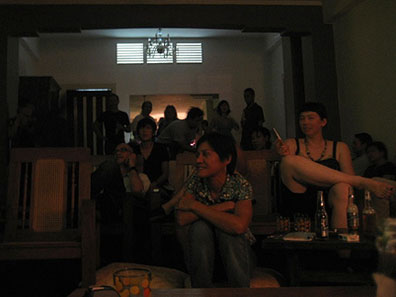 Crowd at Living Room