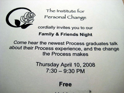 institute for personal change