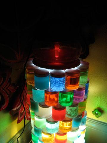 Megan Wilson's installation, detail with air freshener