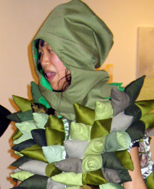 Is that a durian costume? You bet!