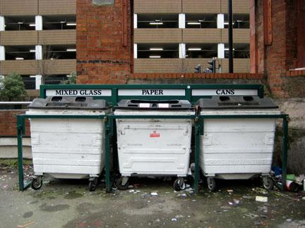 "Tibb Street car park ""bring"" site"