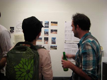 Taro Hattori and Scott Oliver discuss amongst themselves.