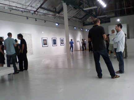 Artist's Reception for Palimpsests, Tarryn Teresa Gallery, LA