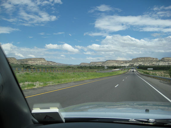 landscape with road, arizona