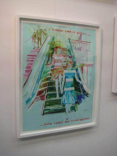 David Kramer, Galerie Laurent Godin, Armory