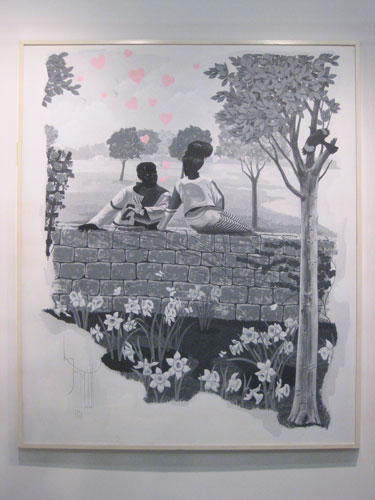 Kerry James Marshall, Jack Shainman Gallery, Armory