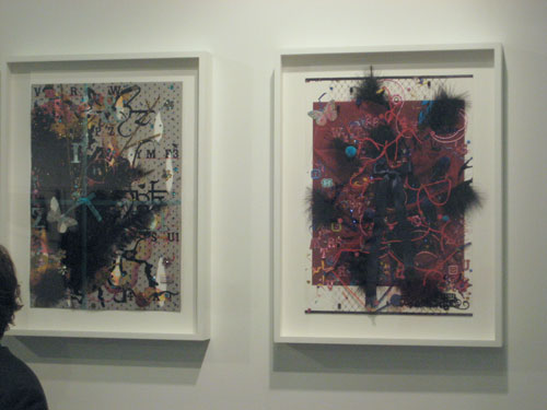 Fiona Rae, Buchmann Gallery, Berlin, Armory