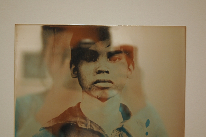 Binh Danh's super cool daguerrotypes were also on view, for you to examine closely, at Haines.