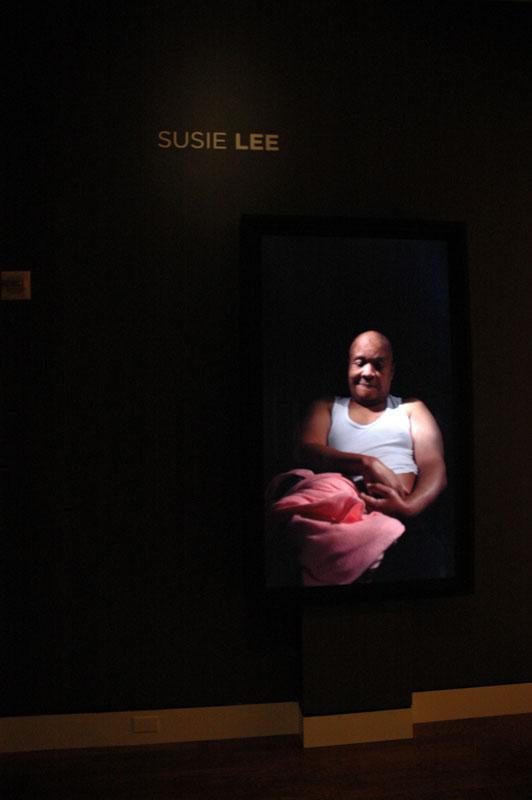 Video portrait by Susie Lee.