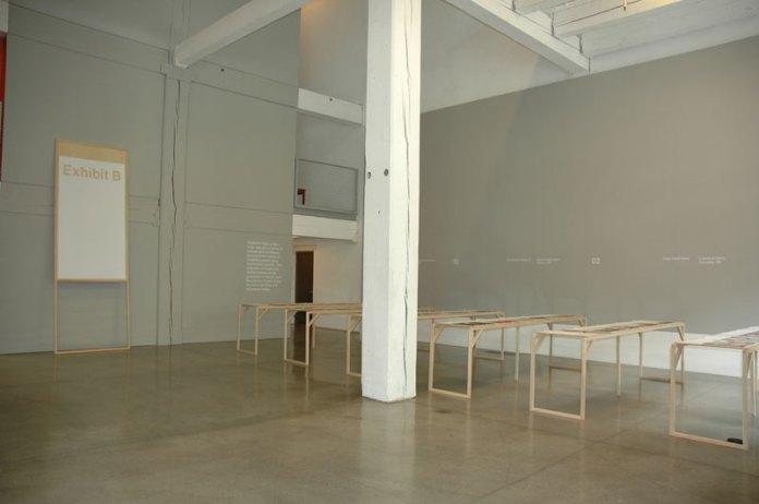 Gorgeous exhibition space in Weiden+Kennedy's foyer.