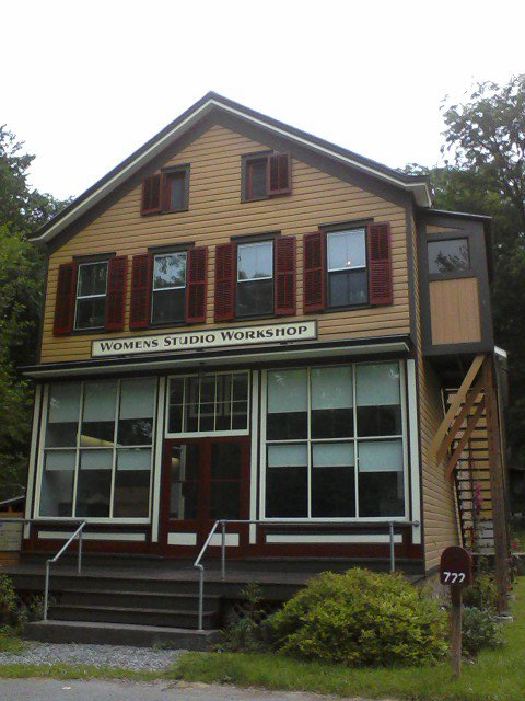 Women's Studio Workshop in Rosendale, NY.
