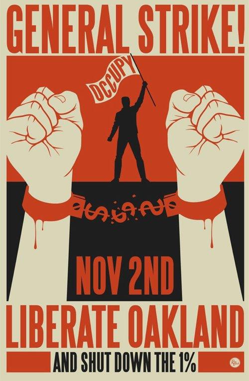 General Strike poster