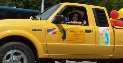 Official Pollyanna Glad Day 2005, Litteton, NH (hometown of Pollyanna author Eleanor H. Porter)