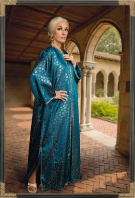 """Cindy Sherman. Untitled #466. 2008. Chromogenic color print, 8' 1 1/8 x 63 15/16"""" (246.7 x 162.4 cm). The Museum of Modern Art, New York. Acquired through the generosity of Robert B. Menschel in honor of Jerry I. Speyer. © 2011 Cindy Sherman. Source:MoMA.org."""