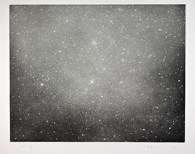 Vija Celmins, Night Sky 3, 2002 // Source: NationalGalleries.org.