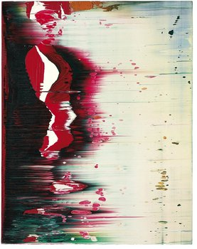 Gerhard Richter Fuji, 1996 Oil on alucobond. David Roberts Collection // Source: davidrobertsartfoundation.com.