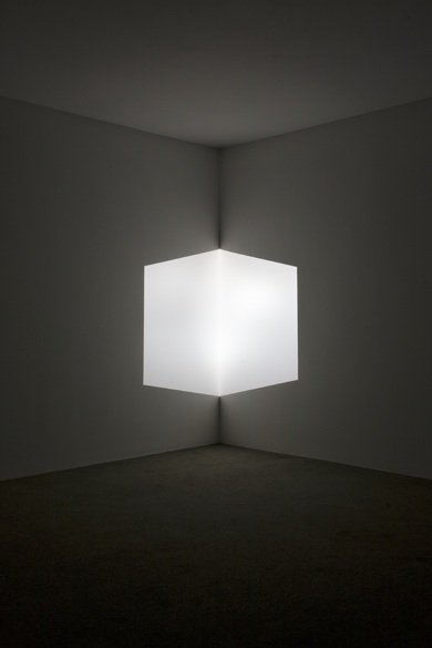 Image: James Turrell, Afrum (White), 1966, Projected light, Dimensions variable, Los Angeles County Museum of Art, partial gift of Marc and Andrea Glimcher in honor of the appointment of Michael Govan as Chief Executive Officer and Wallis Annenberg Director and purchased with funds provided by David Bohnett and Tom Gregory through the 2008 Collectors Committee (M.2008.60) © James Turrell. Photo © 2012 Museum Associates/LACMA. // lacma.org