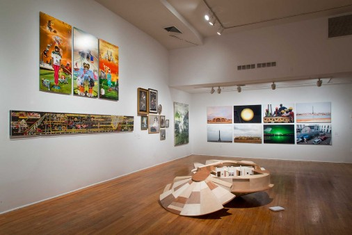 Installation view of The Shadows Took Shape. // Source: StudioMuseum.org // Photo: Adam Reich