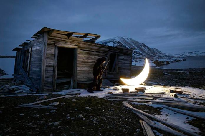 Leonid Tishkov, Private Moon. // Source: ArtsCatalyst.org.