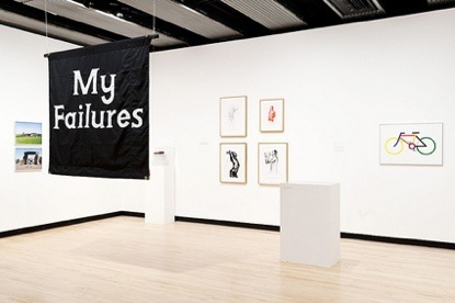 Jeremy Deller, My Failures, installation view, Hayward Gallery, 2012. // Source: JeremyDeller.com