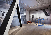 An unfortunately small thumbnail of an installation view of Other Primary Structures at The Jewish Museum, New York. Photo: David Heald/The Jewish Museum.  // Source: thejewishmuseum.org.