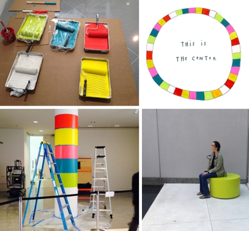 Susan O'Malley and Leah Rosenberg, Find Your Center, Montalvo Arts Center at ybca.