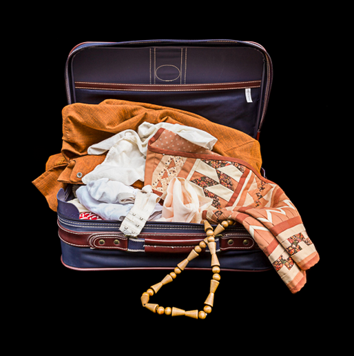 Anyone who has lost a loved one will recognize these collections of possessions as memorials to people. The futility of capturing one's loss and grief is only underscored by the objects that remain present. Kija Lucas, Objects to Remember You By: Collections from Sundown, 2014, archival pigment print. Source: kijalucas.com.