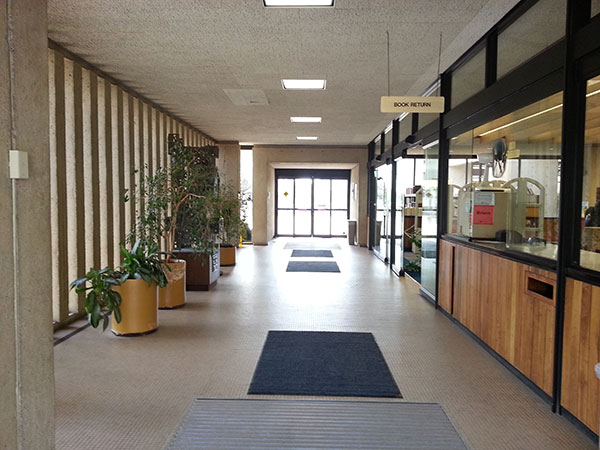 Foyer. Wichita Public Library, Central branch.