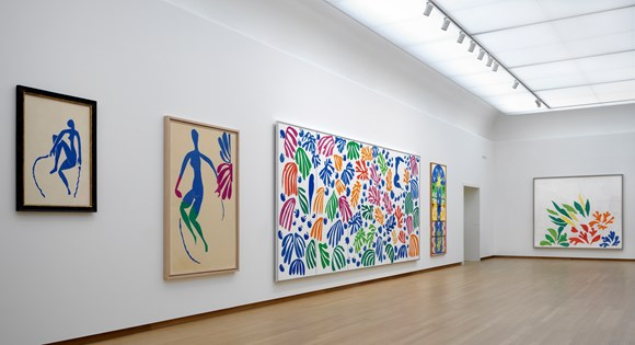 The Oasis of Matisse, installation view. Photo: Gert Jan van Rooij. ©Succession H. Matisse, c/o Pictoright Amsterdam 2014