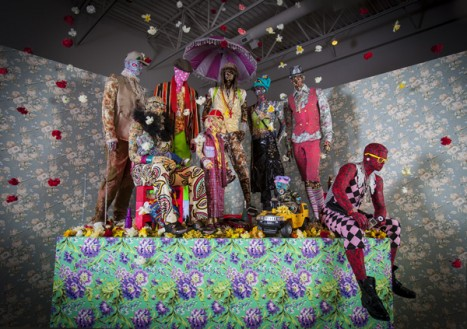Ebony G. Patterson, Swag Swag Krew-From the Out and Bad Series // Source:  madmuseum.org