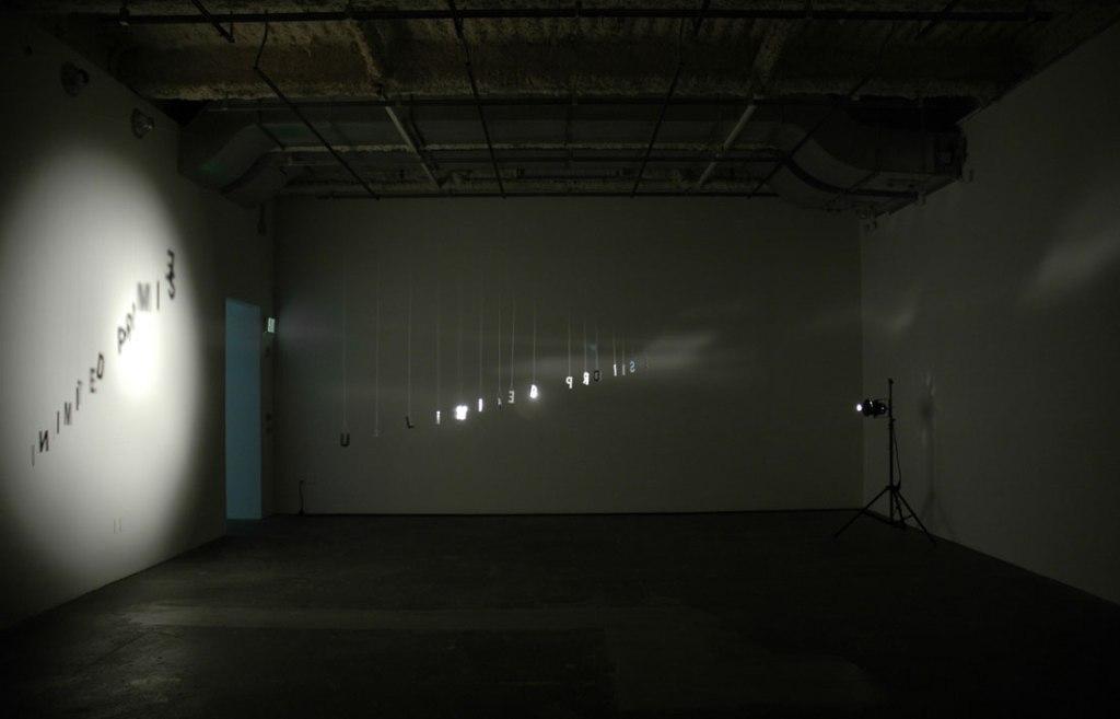 Christine Wong Yap, Unlimited Promise, 2009/2010, installation.