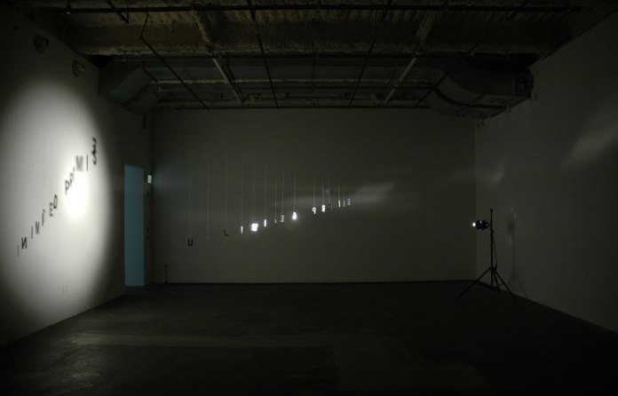 Christine Wong Yap, Unlimited Promise, 2009/2010, installation.