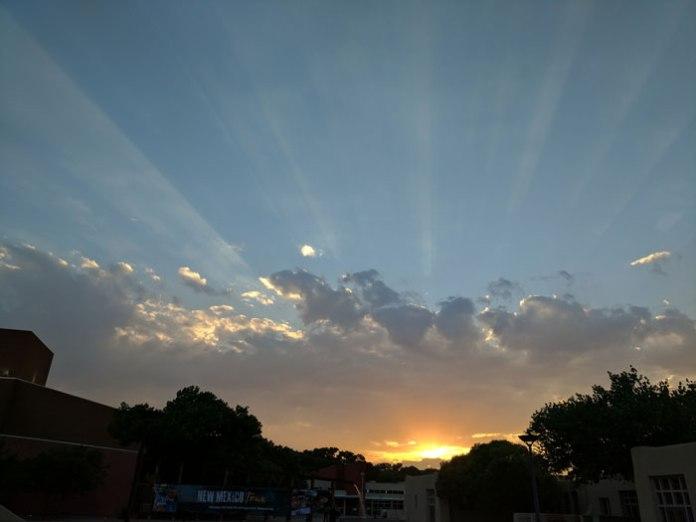 Sunset from Barelas.