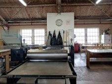 Kala Art Institute has a huge printshop for intaglio, letterpress, screenprinting, lithography, digital media, and darkroom processes.